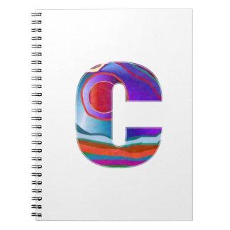 ALFA CCC del alfabeto Libretas Espirales