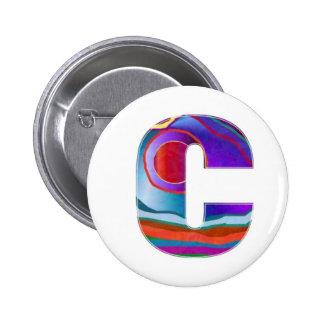 ALFA CCC del alfabeto Pin Redondo 5 Cm