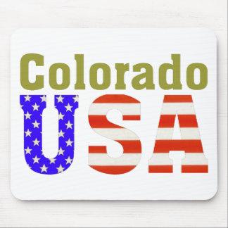 Alfa de Colorado los E.E.U.U. Aashen Tapetes De Raton