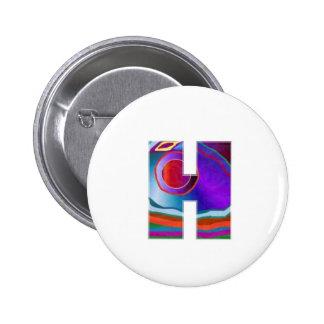 Alfa de HHH: Nombre de la inicial de la ubicación  Pin Redondo 5 Cm