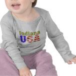 Alfa de Indiana los E.E.U.U. Aashen Camiseta