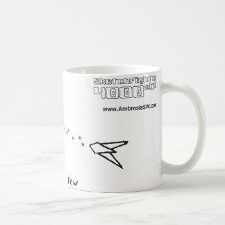 Alfa de Sketchfighter 4000 Taza De Café