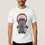 Alfa del nativo americano remera