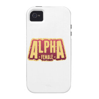 Alfa Female1 Case-Mate iPhone 4 Funda