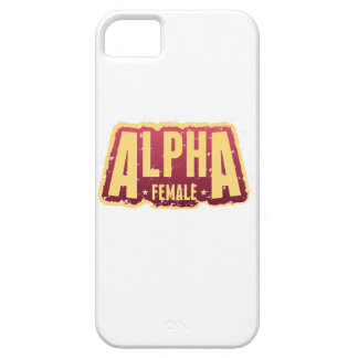 Alfa Female1 iPhone 5 Case-Mate Carcasas