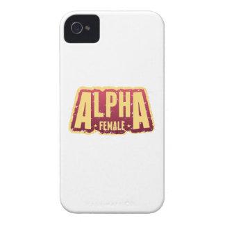 Alfa Female1 Case-Mate iPhone 4 Coberturas