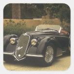Alfa Romeo 8C 2900B es un muy raro y muy Pegatina Cuadrada