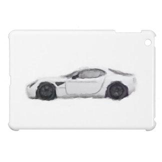 Alfa Romeo 8C Car Hand Painted Art Brush iPad iPad Mini Covers