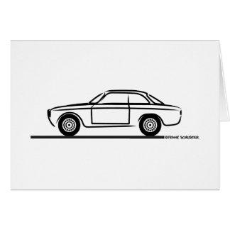 Alfa Romeo GTA GTV T-Shirt Card