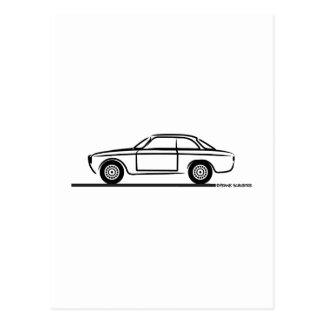 Alfa Romeo GTA GTV T-Shirt Postcard