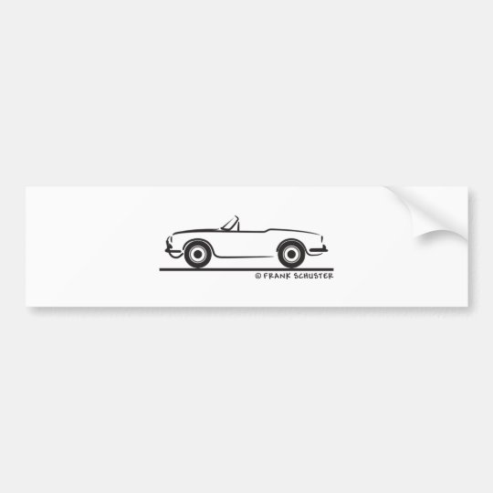 Alfa Romeo Guilietta Spider Bumper Sticker