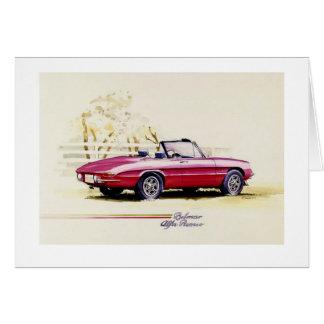 Alfa Romeo Tarjeta