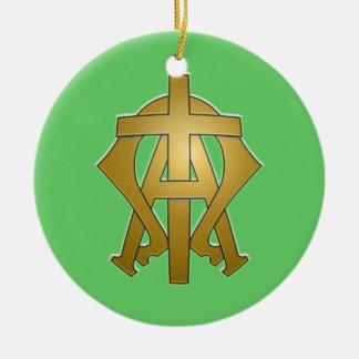 Alfa y Omega Ornamentos De Reyes