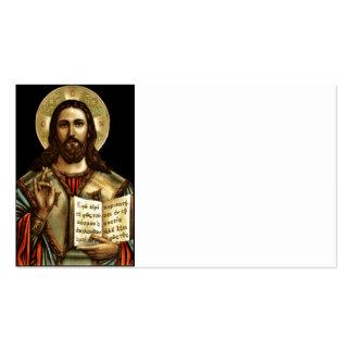Alfa y Omega Jesús Tarjetas De Visita