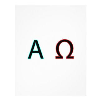 Alfa y Omega Membrete