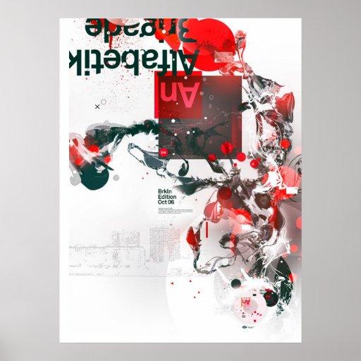 Alfabetik Brigade Poster