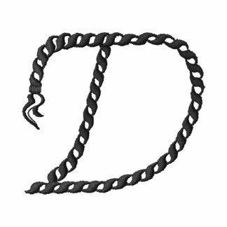 """Alfabeto 2,5"""" de la cuerda de """"D"""""""