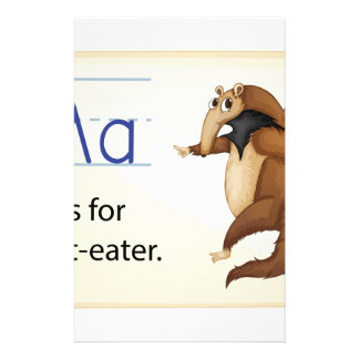 Alfabeto A Papeleria De Diseño