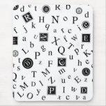 Alfabeto ABC Alfombrillas De Ratones