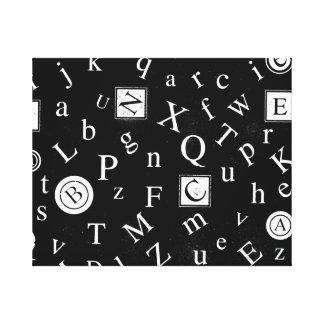 Alfabeto ABC Impresiones En Lona