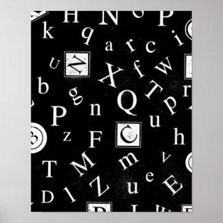 Alfabeto ABC Poster