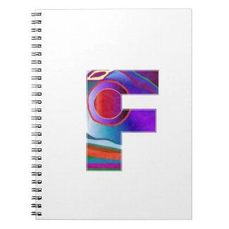 Alfabeto ALFA FFF Libreta Espiral