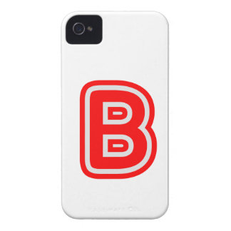 Alfabeto ALPHAB BBB iPhone 4 Carcasa