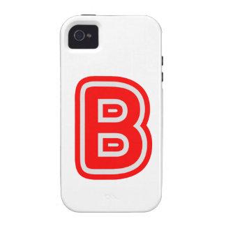 Alfabeto ALPHAB BBB Vibe iPhone 4 Funda