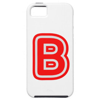 Alfabeto ALPHAB BBB iPhone 5 Cobertura