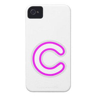 ALFABETO ALPHAC CCC Case-Mate iPhone 4 COBERTURA