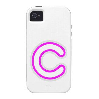 ALFABETO ALPHAC CCC VIBE iPhone 4 CARCASAS