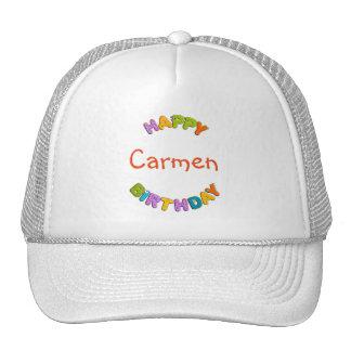 alfabeto animal - cumpleaños gorros bordados