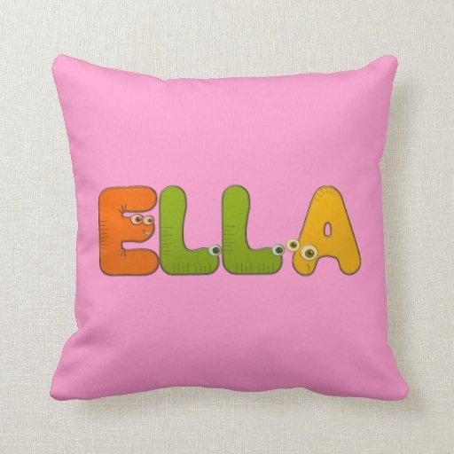 alfabeto animal Ella Almohadas
