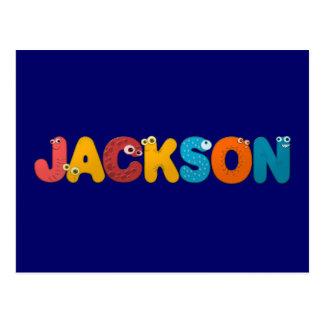 alfabeto animal Jackson Postal