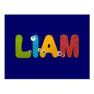 alfabeto animal Liam Postales