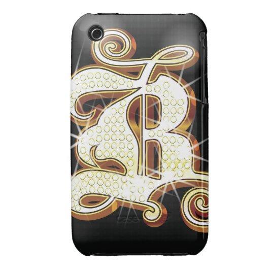 Alfabeto B de Bling Funda Para iPhone 3 De Case-Mate