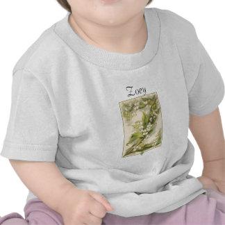 Alfabeto Catherine Klein de la flor de Z Camisetas