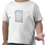 Alfabeto cherokee, desarrollado en 1821 camisetas