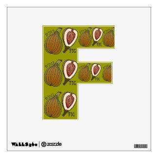 Alfabeto con sabor a fruta (F está para el higo) Vinilo Adhesivo