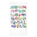 Alfabeto de la diversión tarjeta personal