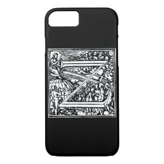 Alfabeto de la letra Z de la muerte Funda iPhone 7