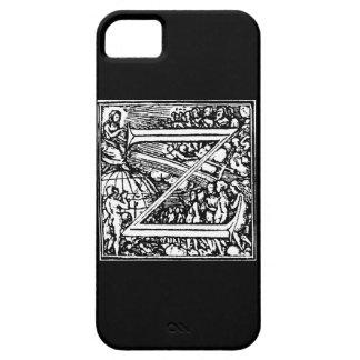 Alfabeto de la letra Z de la muerte Funda Para iPhone SE/5/5s