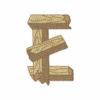 Alfabeto de madera E