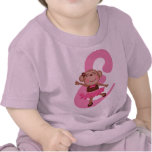Alfabeto del mono de la letra E del monograma Camiseta