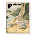 Alfabeto del pelícano postal