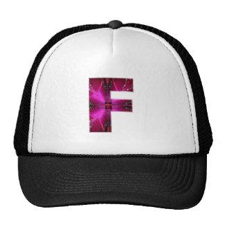 Alfabeto F FF FFF:  Tema de la chispa Gorra