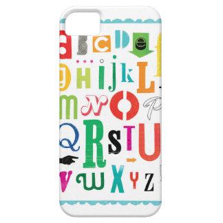 ¡Alfabeto! iPhone 5 Fundas