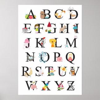 Alfabeto Impresiones