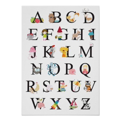 Alfabeto Póster