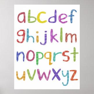 Alfabeto - poster